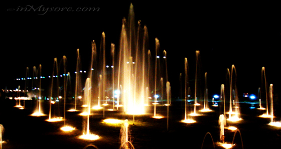Brindavan Musical Fountains